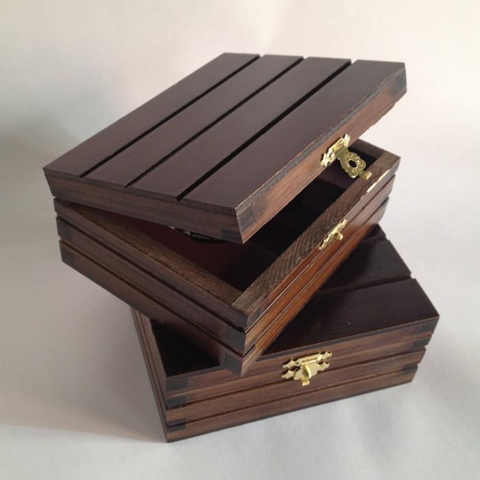 Caja de madera para sello de lujo - Cajas de madera para regalo ...