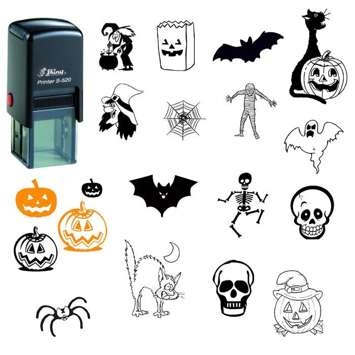 Sellos para halloween - Dibujos infantiles originales ...