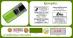 Ejemplos de sello de bolsillo Shiny S-723